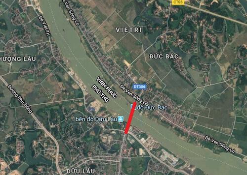 Sẽ có cây cầu 332 tỷ đồng nối Vĩnh Phúc và Phú Thọ