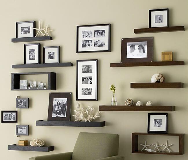 Treo tranh trang trí đồ trang trí trong căn hộ phòng quan hơich