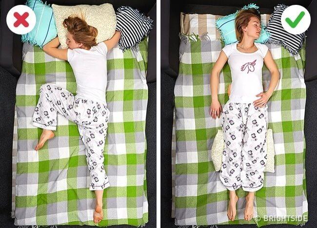 Tư thế ngủ ảnh hưởng đến sức khỏe của bạn