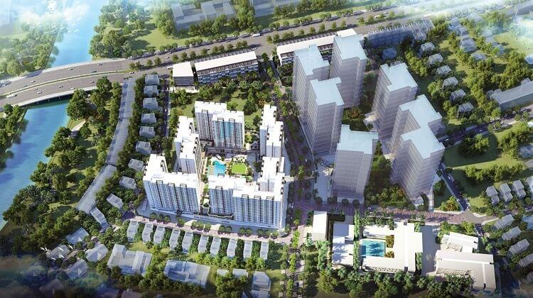 Phối cảnh dự án Akari City. Ảnh: Nam Long Group.