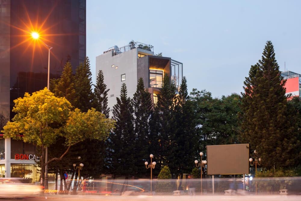Tòa nhà hội tụ phổ thông quý phái giúp kiến trúc nức danh tại quận 7, TP.HCM