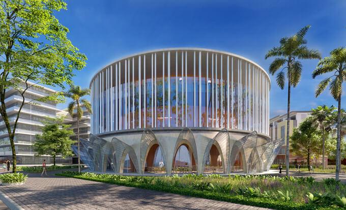 Trung tâm tổ chức hội nghị tại Meyhomes Capital Phú Quốc sẽ là nơi tổ chức các sự kiện quan trọng của Phú Quốc trong tương lai.
