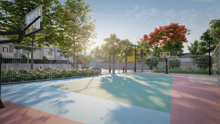 Cư dân tại dự án có thể rèn luyện sức khỏe nhờ có phòng gym, hồ bơi, sân thể thao đa năng...