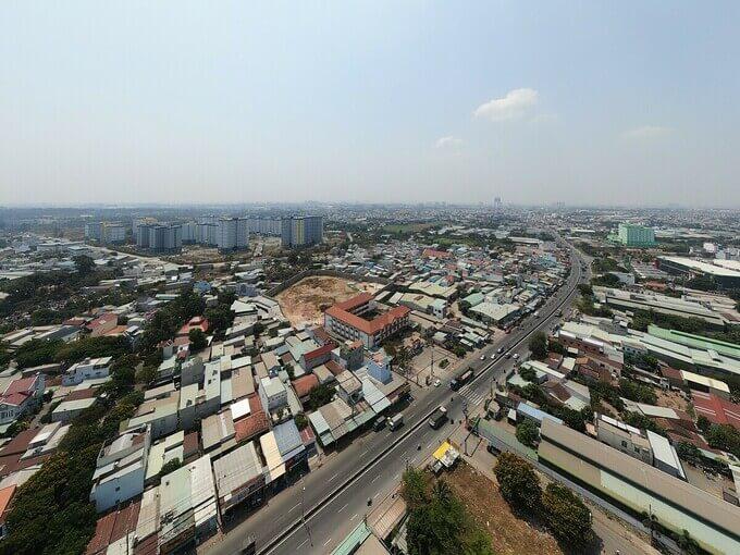 Quốc lộ 1K là cửa ngõ kết nối Bình Dương - TP HCM - Đồng Nai.