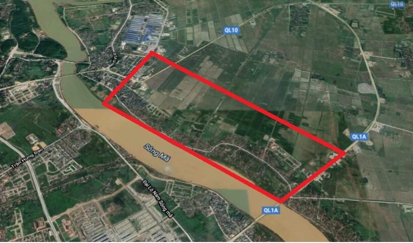 Sơ tuyển dự án Bất động sản 12.000 tỷ ở Thanh Hóa do Eurowindow Holding quy hoạch
