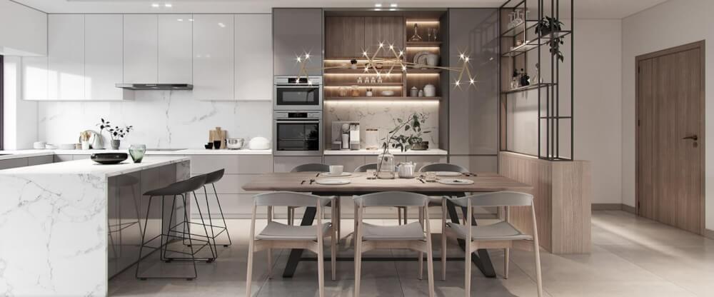 """người nhà đã biết cách thiết kế đèn nhà buồng bếp """"chuẩn chỉnh"""" chưa?"""