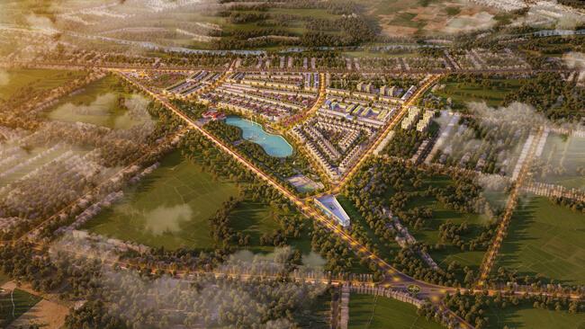 Phối cảnh tổng thể dự án khu đô thị EcoCity Premia Buôn Ma Thuột.