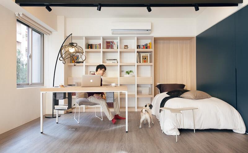 Ý tưởng thiết kế bàn làm việc trong phòng ngủ