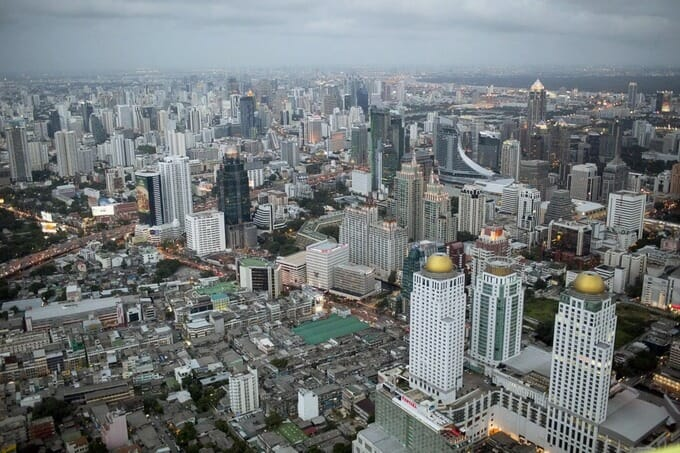 Một góc thành phố Bangkok, Thái Lan. Ảnh; Bloomberg