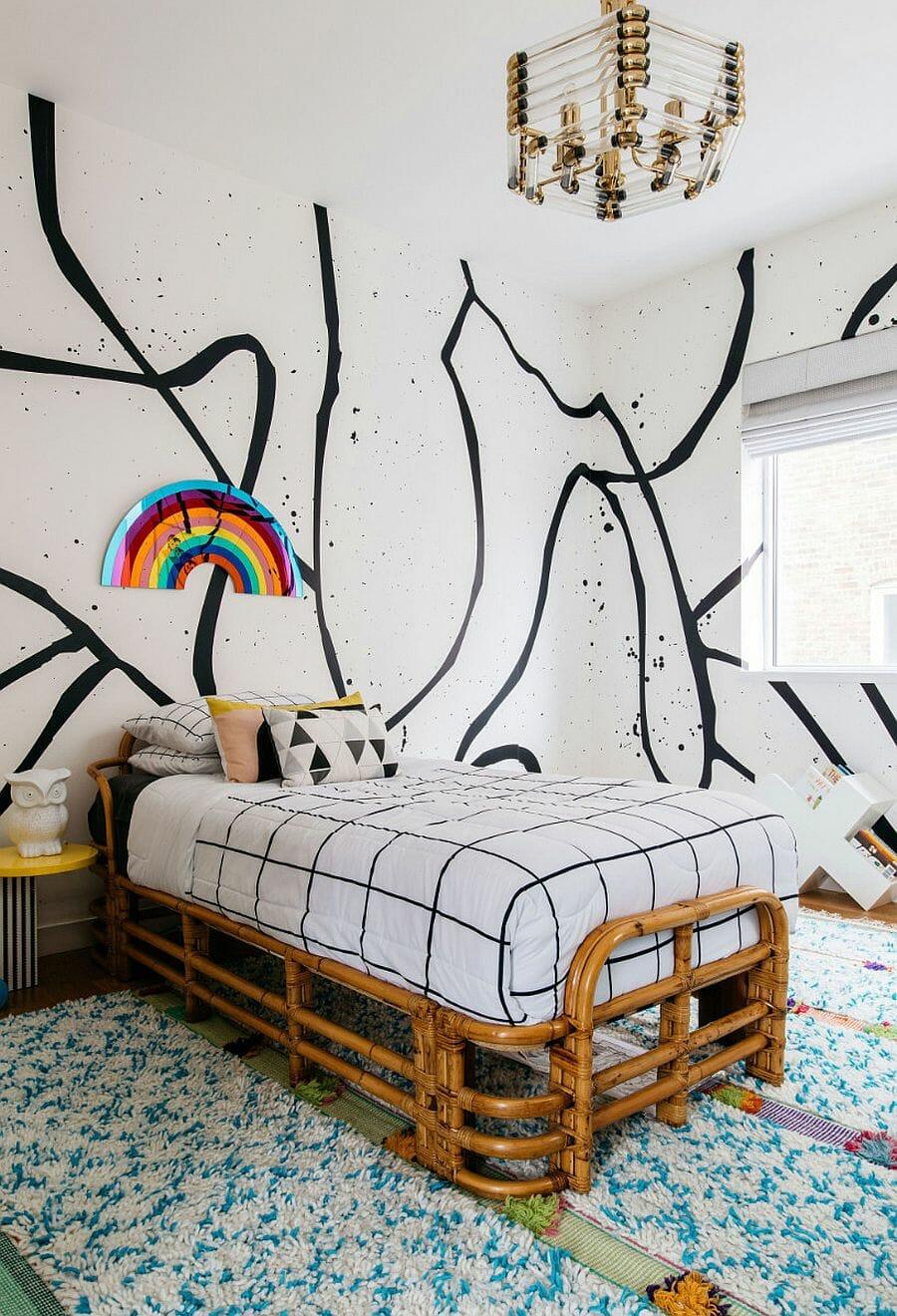 hình ảnh phòng ngủ phá cách cho cô nàng tuổi teen