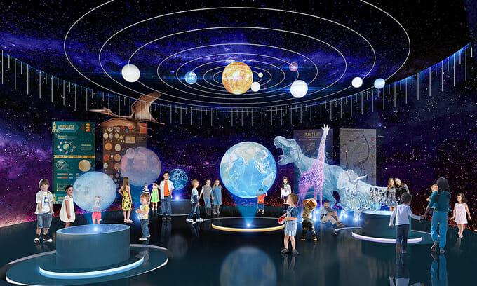 Phối cảnh rạp hát 4D - một trong những hạng mục tiện ích được đầu tư mạnh nhất tại D-Homme.