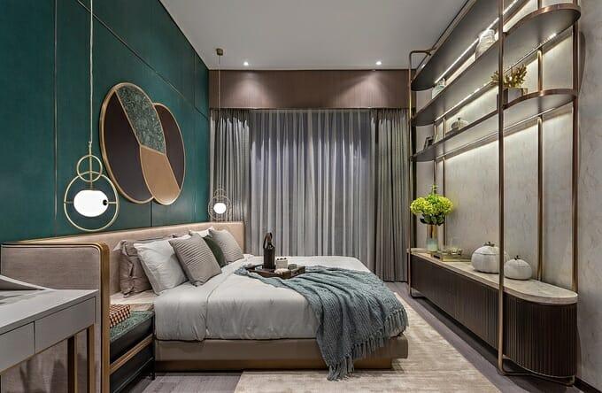 Chất lượng vật liệu và thiết bị nội thất tương đương với các dự án hạng sang khác của Hongkong Land tại Bangkok, Jakarta, Singapore, Manila, Thượng Hải và Hong Kong.