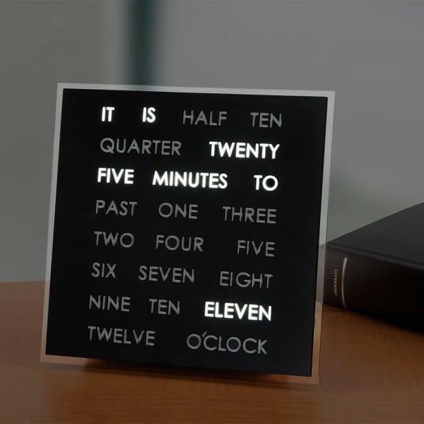 hình ảnh mẫu đồng hồ bằng chữ cái