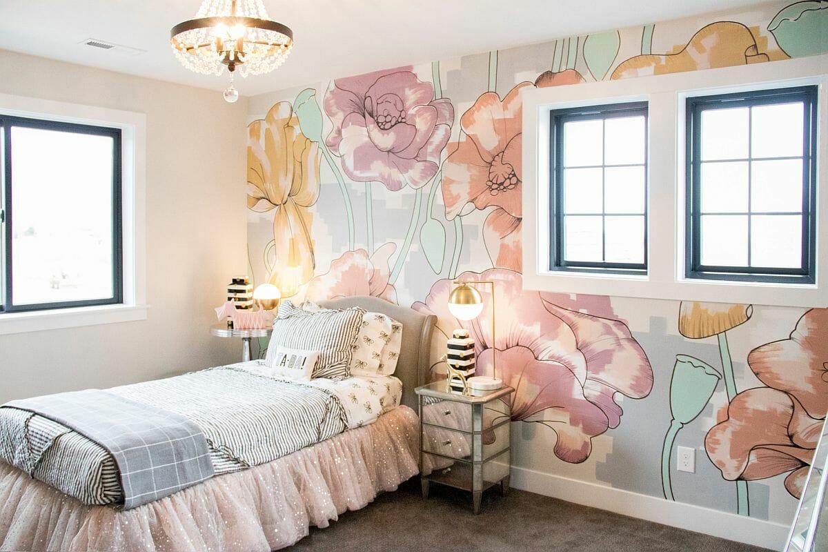 hình ảnh phòng ngủ bé gái đẹp