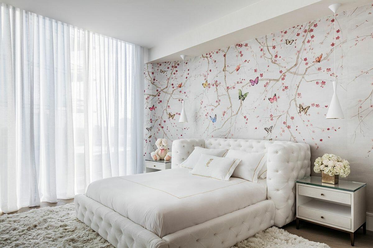 hình ảnh phòng ngủ tông màu trắng chủ đạo