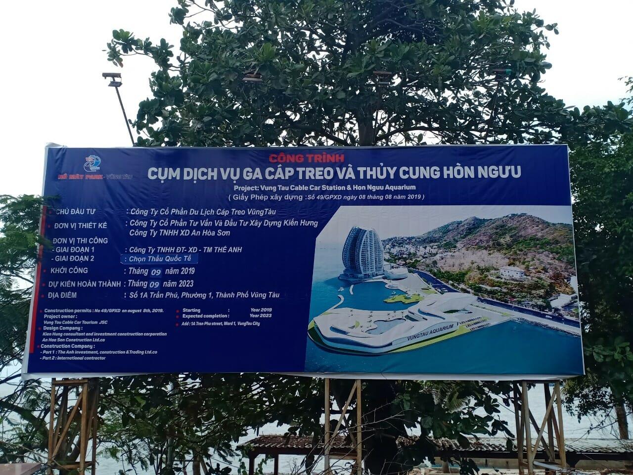 Bà Rịa – Vũng Tàu: Hủy chọn lọc thu hồi hơn 37ha đất dự án Bất động sản Cụm Du lịch Núi Lớn — Núi Nhỏ và Cáp treo Vũng Tàu