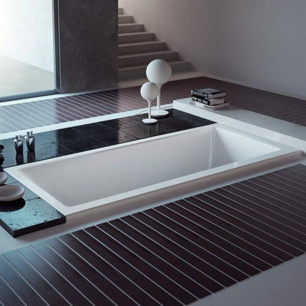 hình ảnh mẫu bồn tắm chìm hiện đại