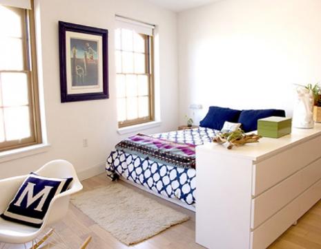 hình ảnh phòng ngủ thoáng đẹp, sinh động hơn sau cải tạo