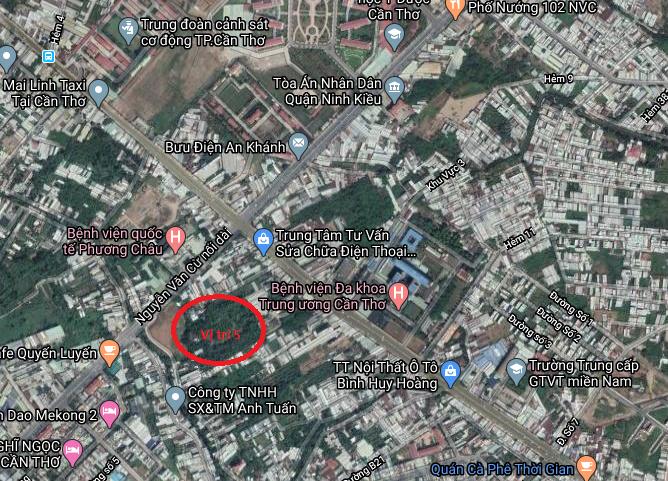 Hé lộ vị trí AEON Việt Nam muốn xây dựng dựng ở Cần Thơ