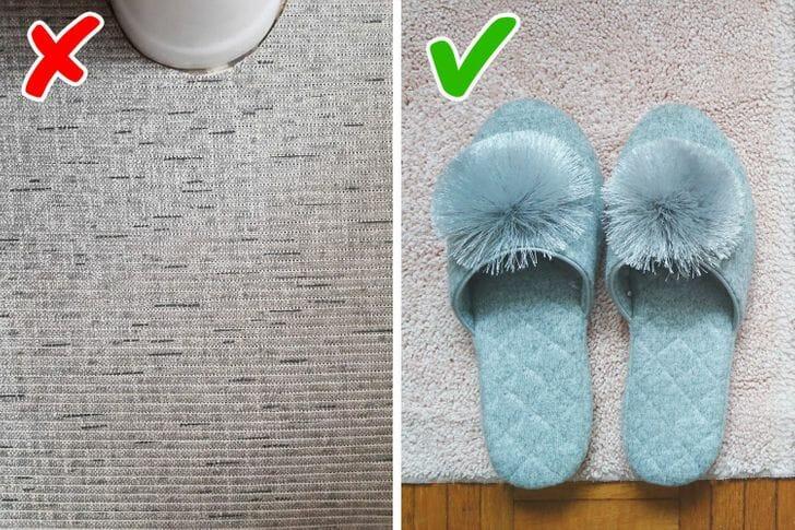 thảm trải phòng tắm